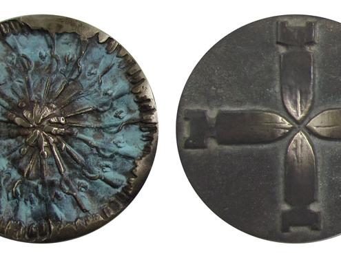 Handmade Art Medal Bronze Kate Ive