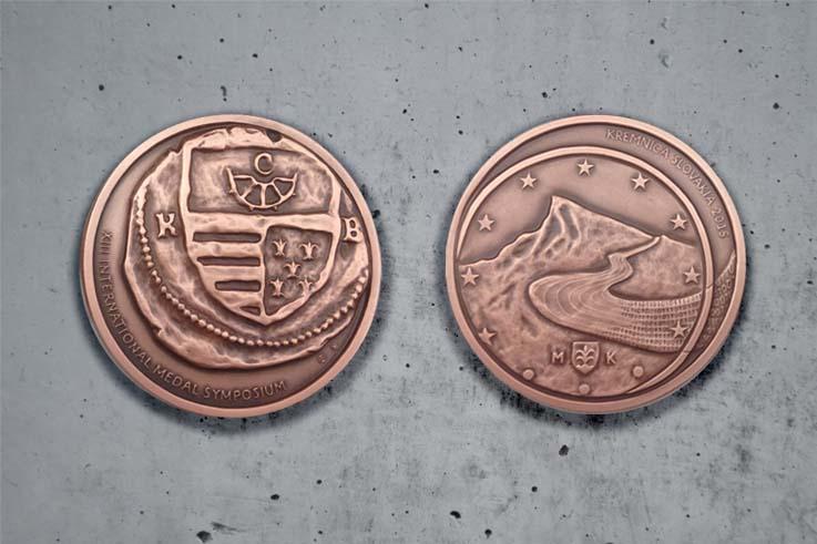 Struck Art Mint Medal Artist Sculptor Kate Ive